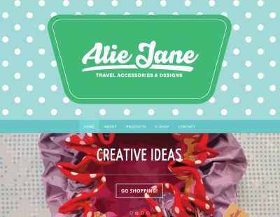 Welcome to the new Alie Jane website :)