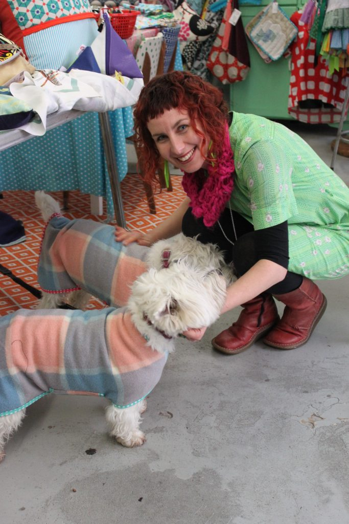 This image has an empty alt attribute; its file name is Me-interacting-with-2-dogs-i-had-just-made-custom-winter-coats-for-683x1024.jpg